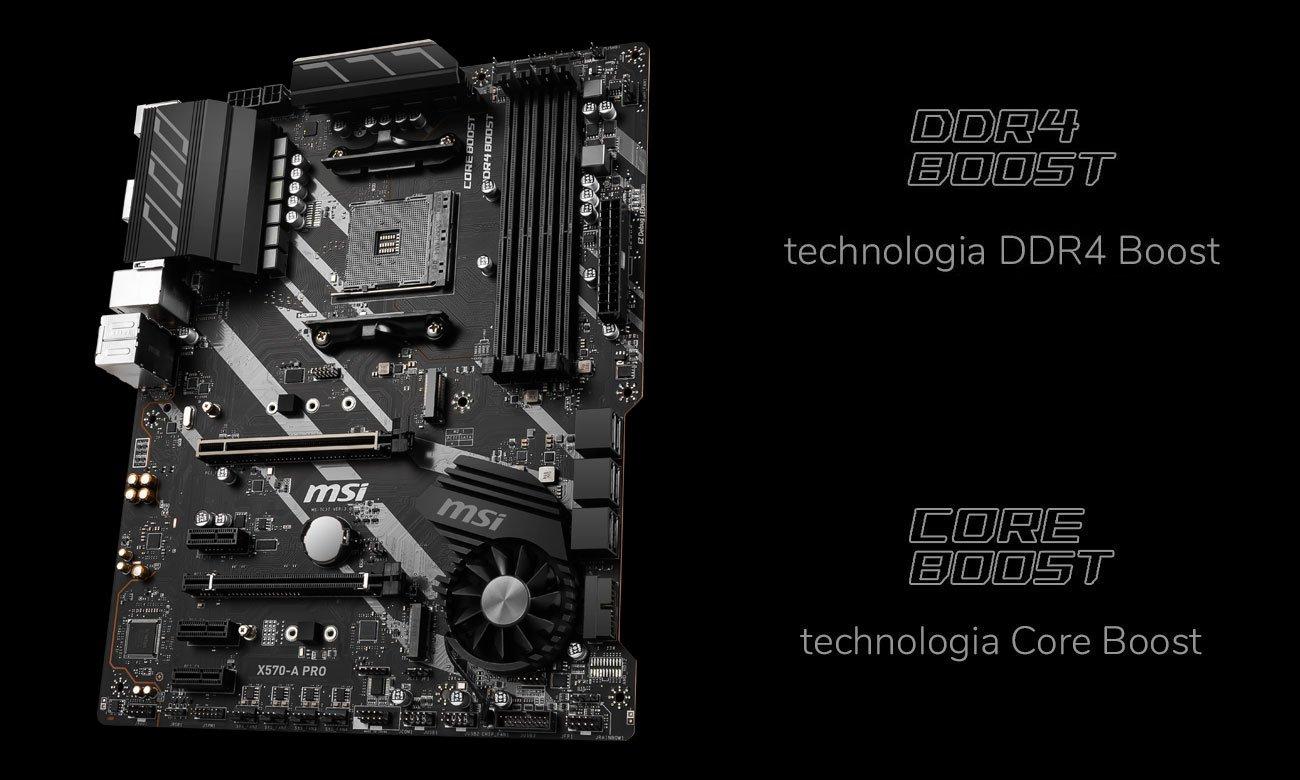 MSI X570-A PRO - Wydajność