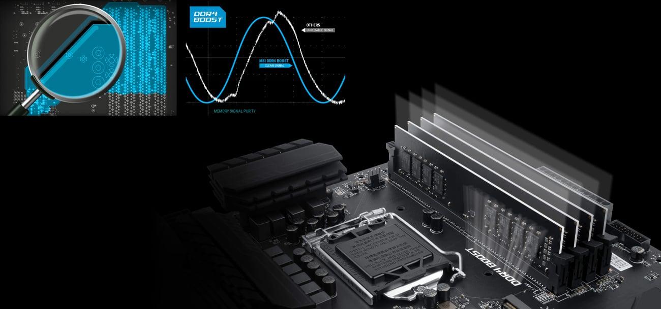 MSI Z270 SLI PLUS RAM DDR4 Boost