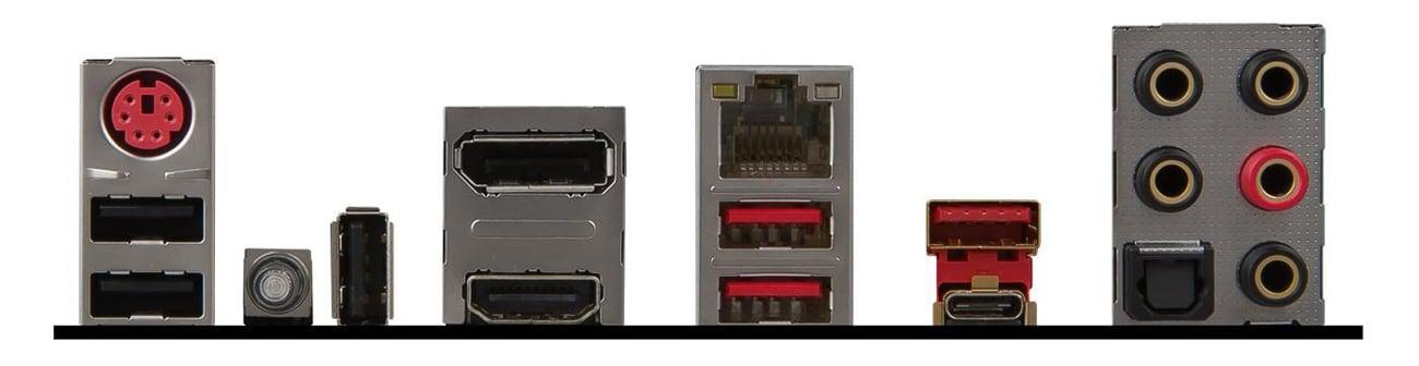 Płyta główna MSI Z270 GAMING M7 Porty