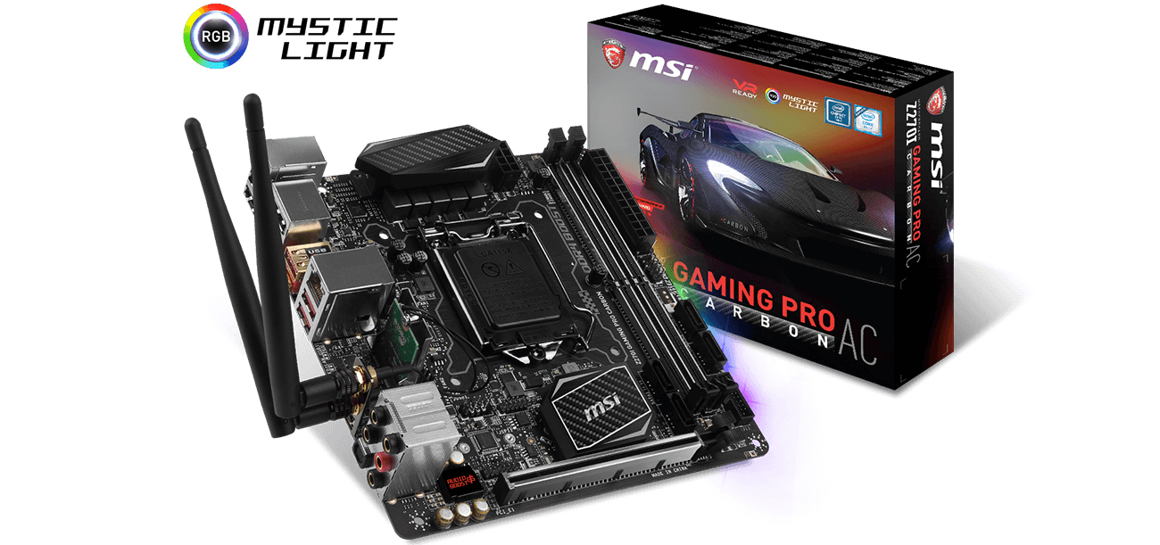 msi z270i gaming pro carbon ac manual