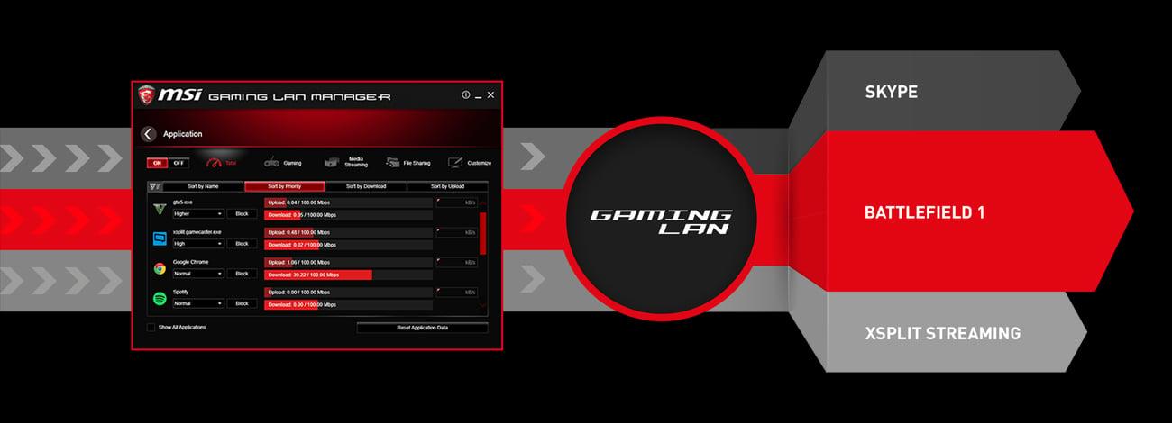 MSI Z270 GAMING PLUS LAN Manager