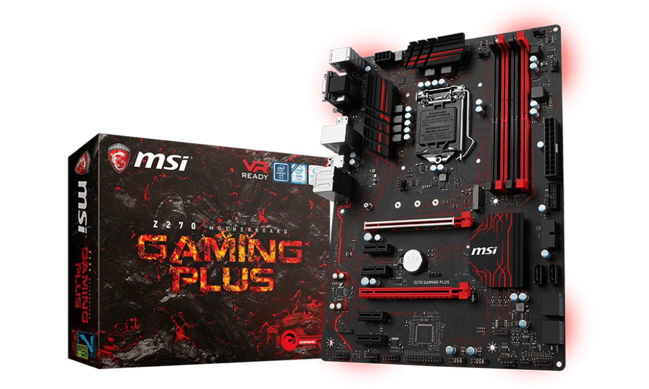 MSI Z270 GAMING PLUS Performance Gaming