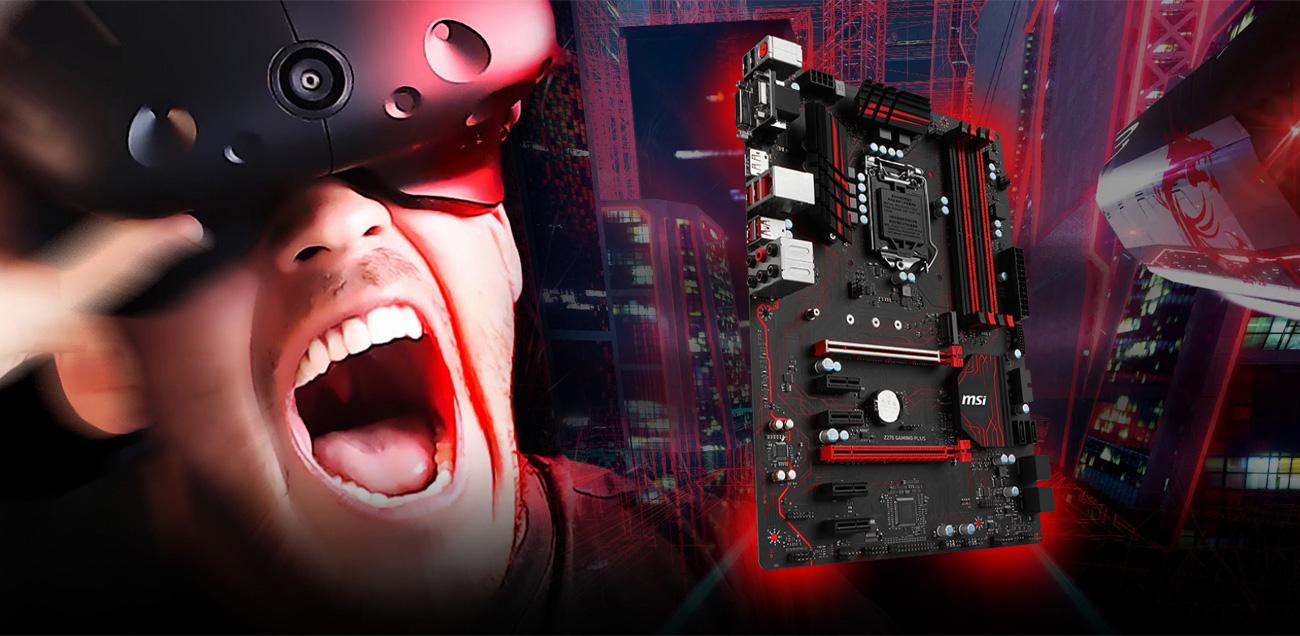 MSI Z270 GAMING PLUS VR Ready