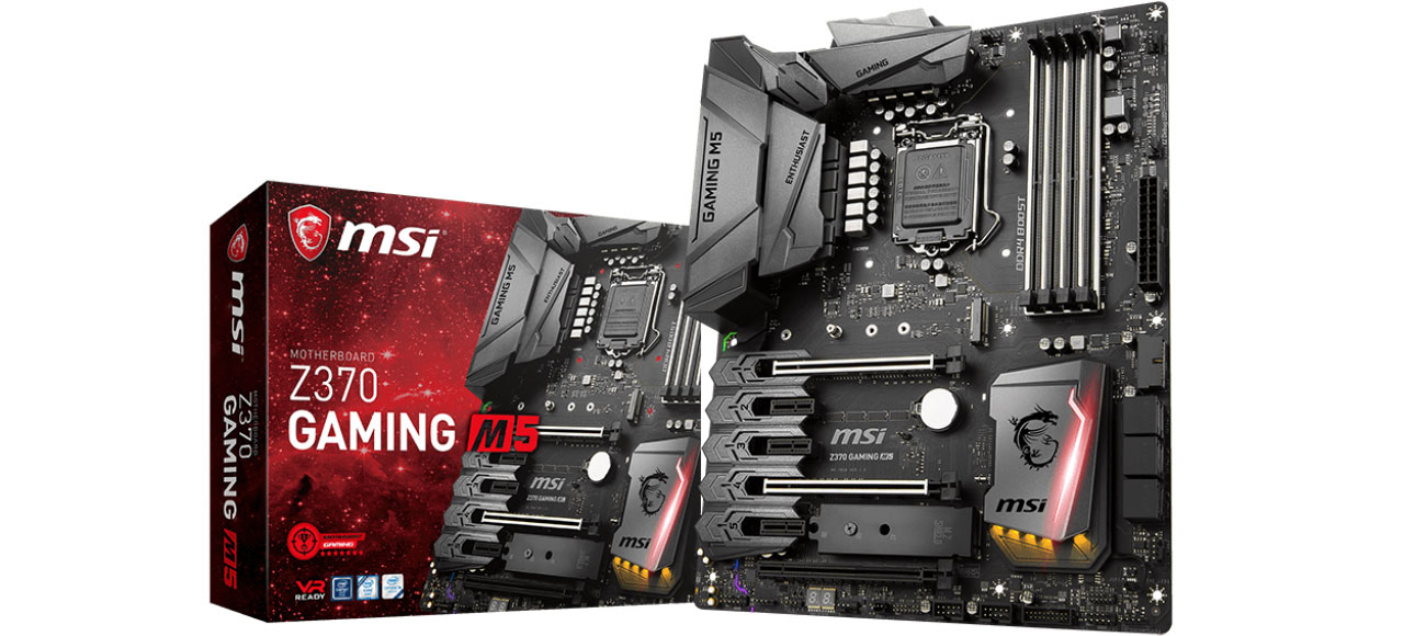 Płyta główna Socket 1151 MSI Z370 GAMING M5 PCI-E DDR4 USB 3.1/M.2