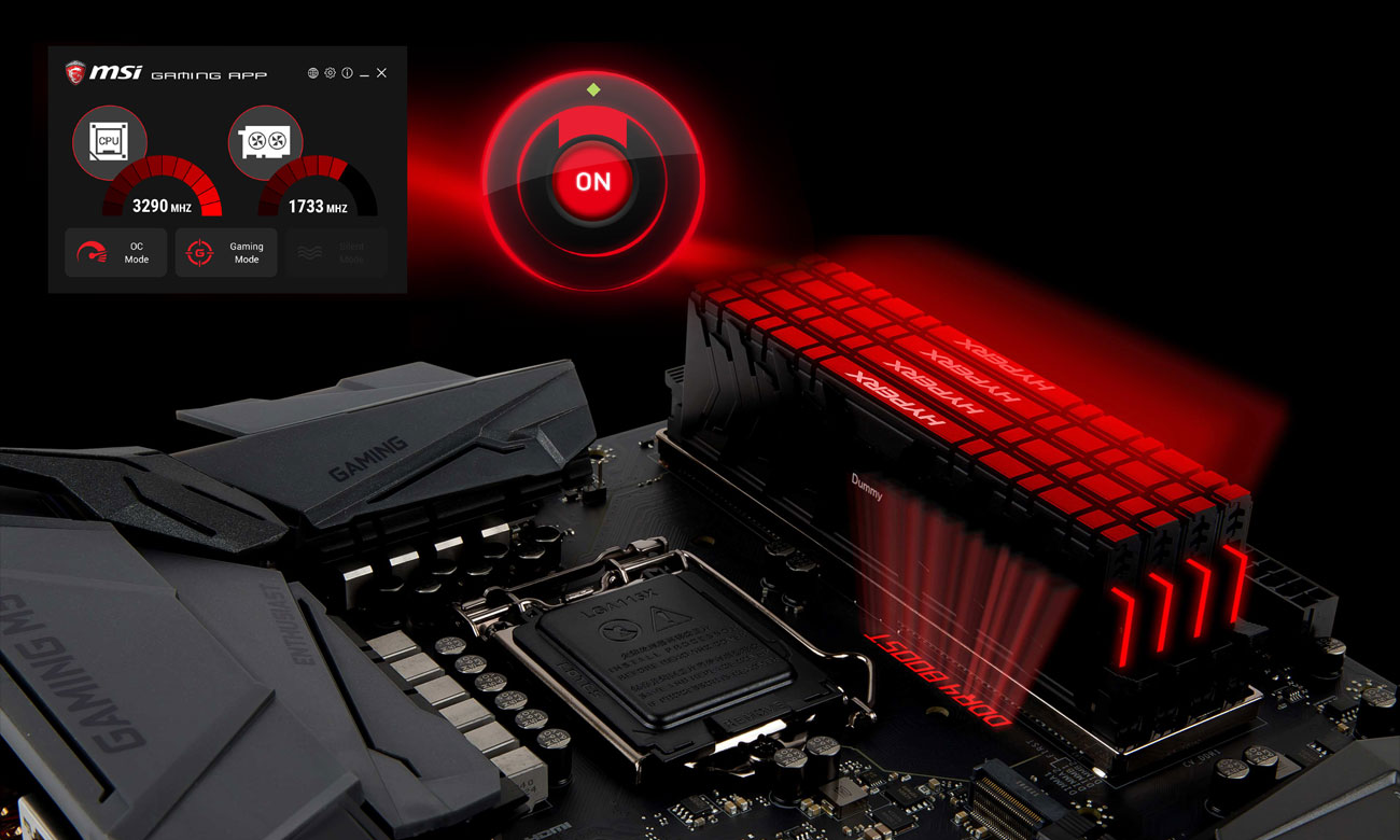 MSI Z370 GAMING M5 Overclocking