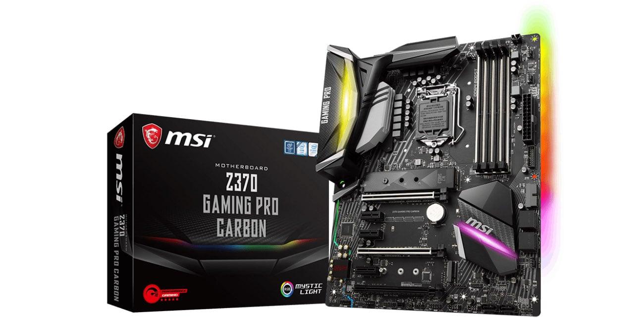 Płyta główna Socket 1151 MSI Z370 GAMING PRO CARBON PCI-E DDR4 USB 3.1/M.2