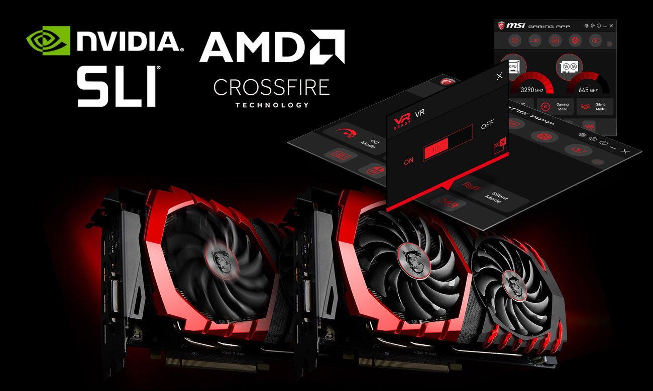 MSI Z370 KRAIT GAMING VR Ready NVIDIA SLI AMD CrossFire