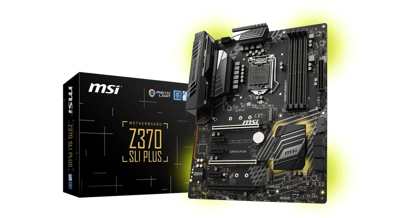 Płyta główna Socket 1151 MSI Z370 SLI PLUS PCI-E DDR4 USB 3.1/M.2