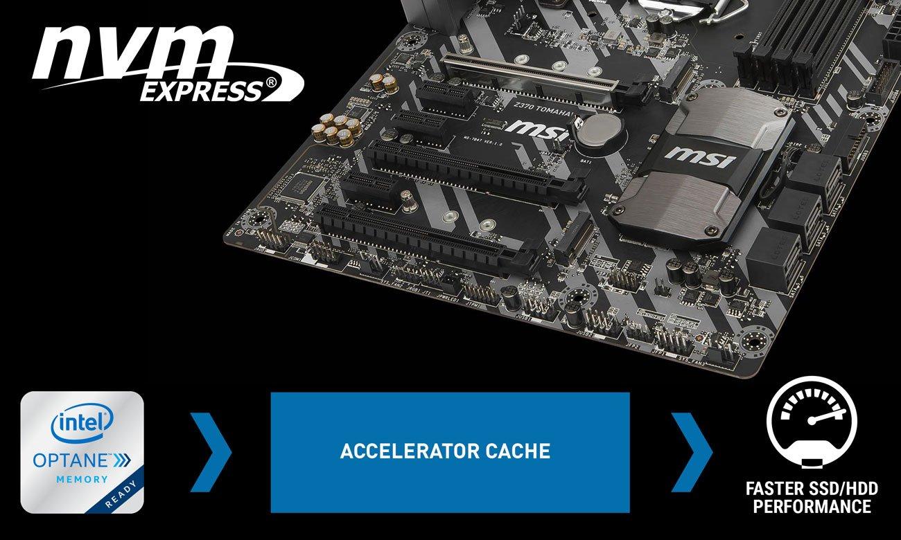 MSI Z370 TOMAHAWK Turbo M.2 NVMe Intel optane
