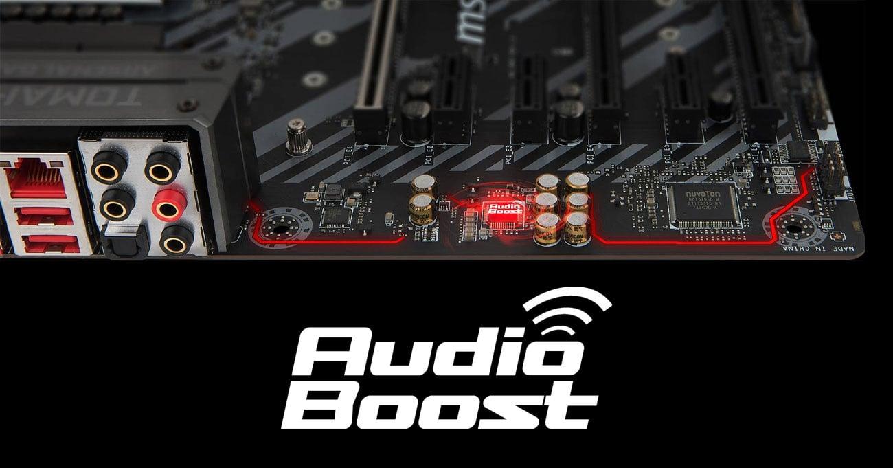 MSI Z370 TOMAHAWK Audio Boost Realtek ALC892