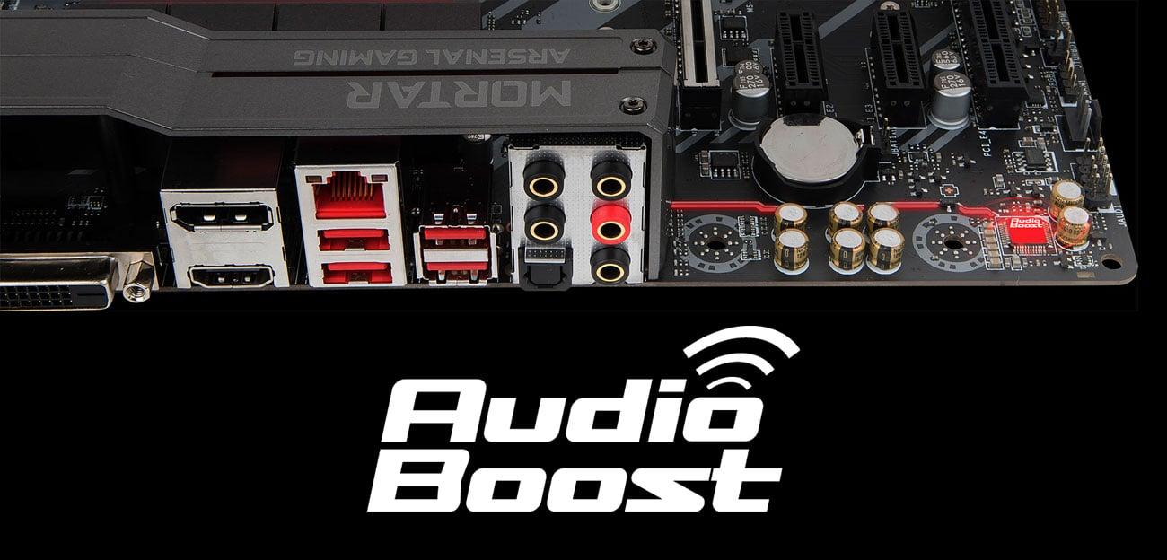 MSI Z370M MORTAR Audio Boost