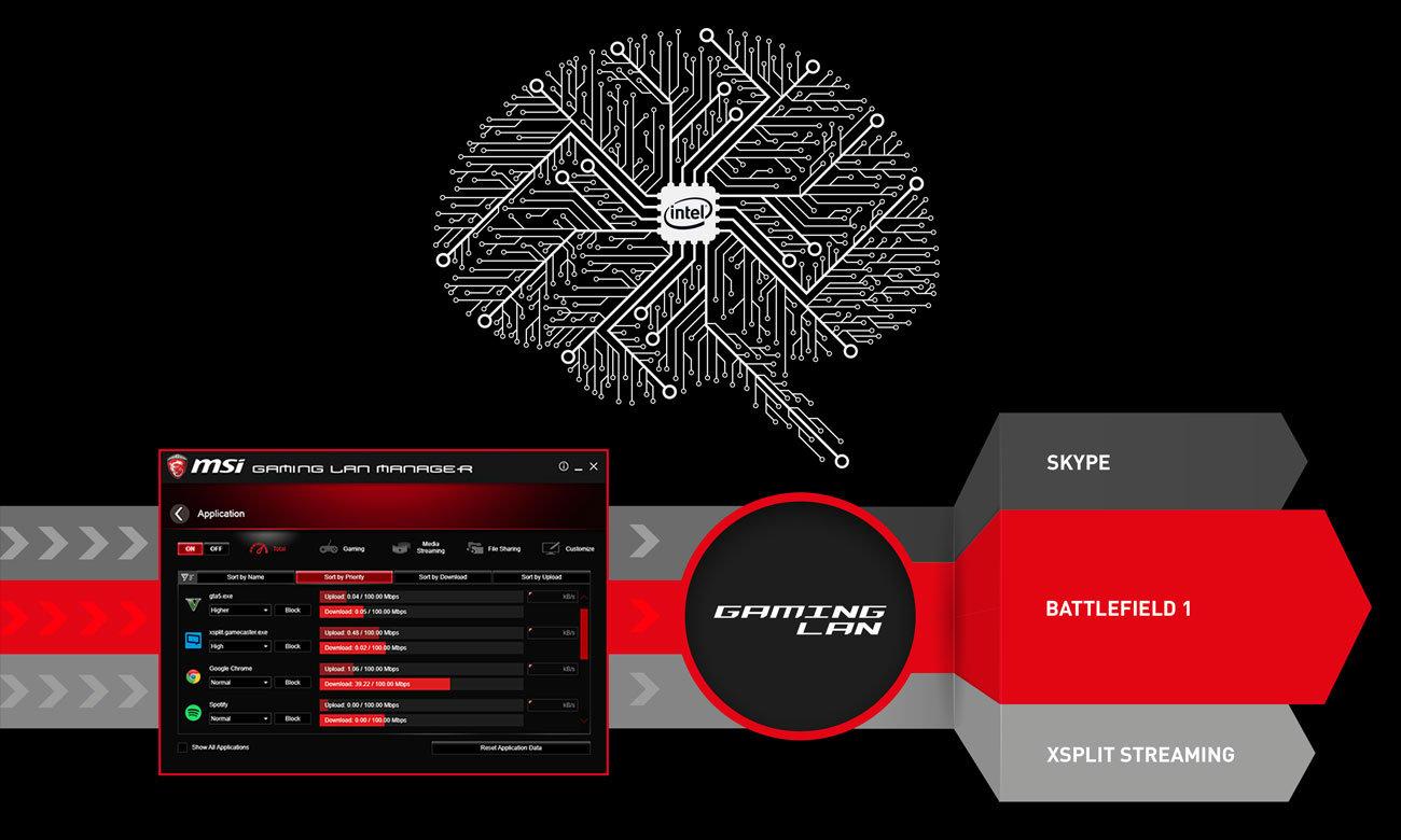 MSI Z370M MORTAR Intel LAN MSI Gaming LAN Manager