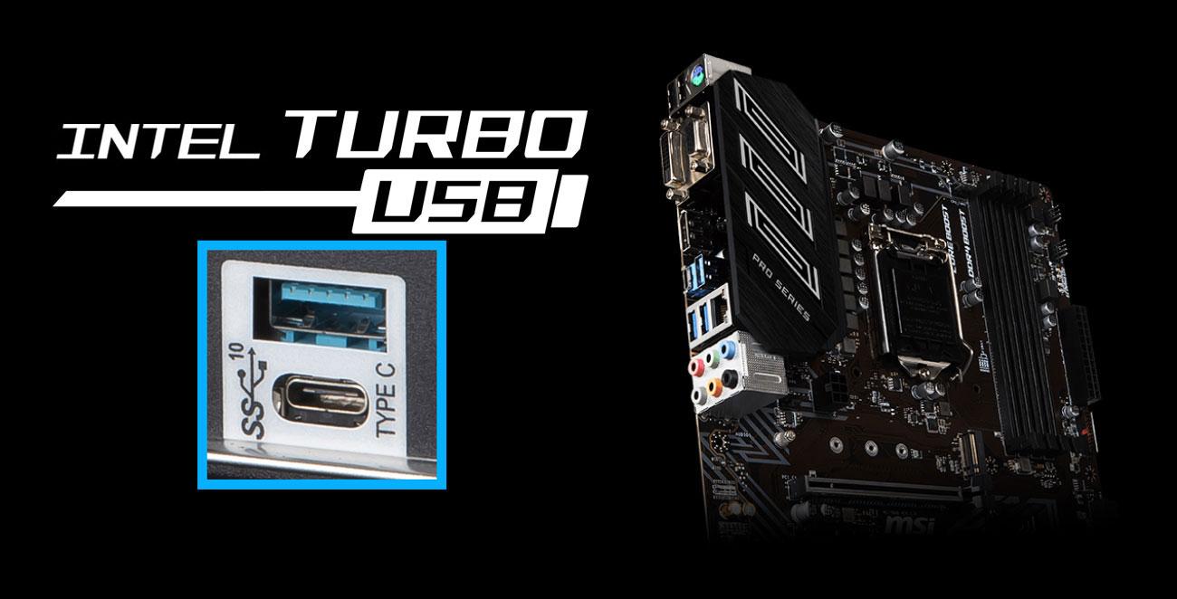 MSI Z390-A PRO Złącza USB