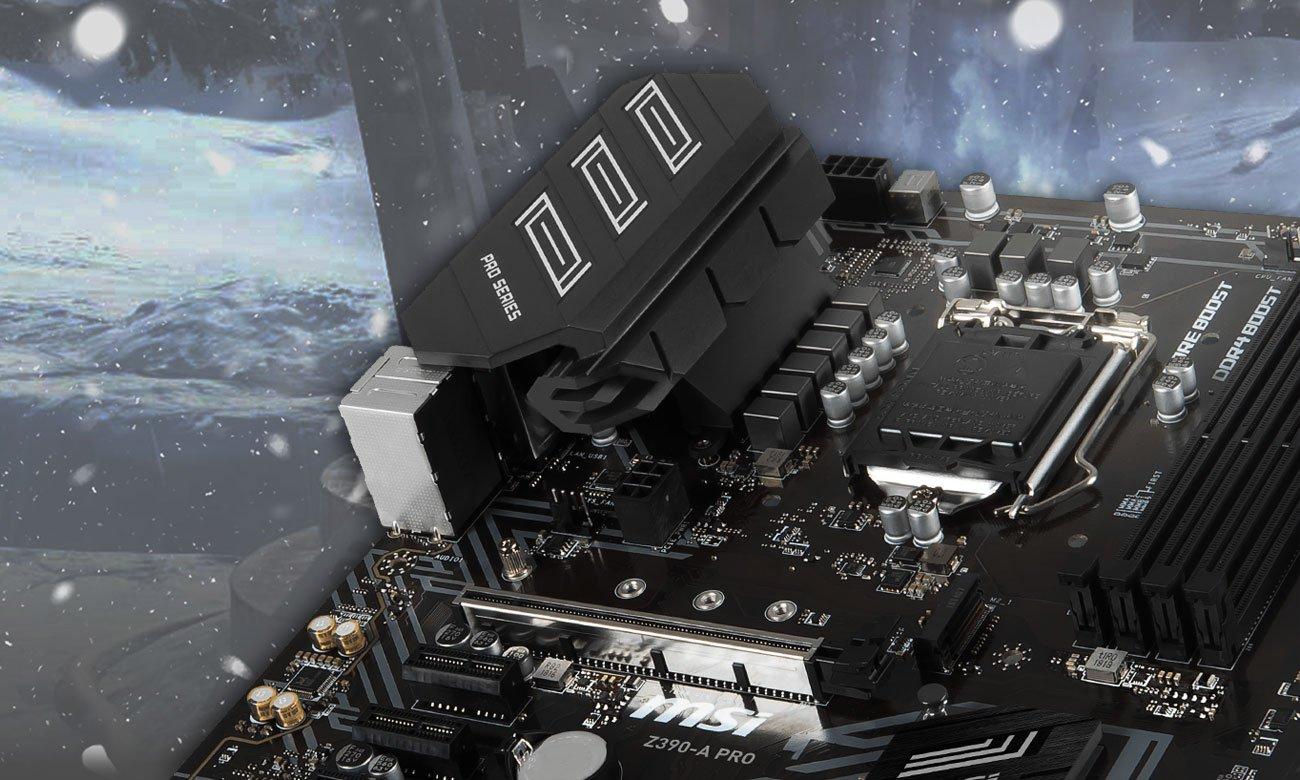 MSI Z390-A PRO Chłodzenie