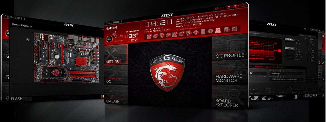 MSI Click BIOS 4