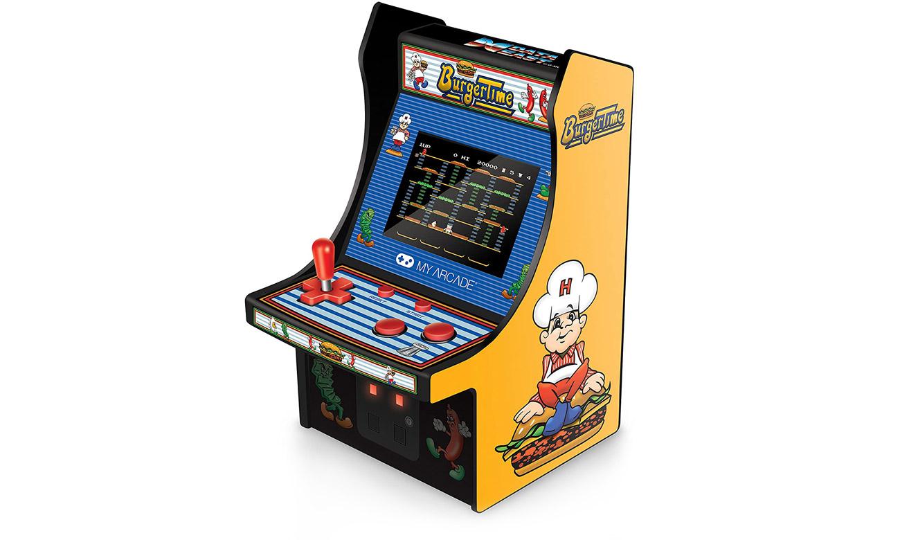 Konsola MyArcade Collectible Retro BurgerTime Micro Player