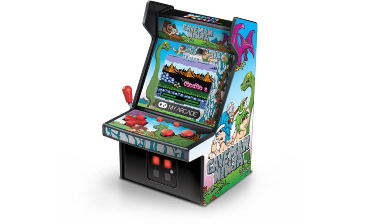 Konsola MyArcade Collectible Retro Caveman Ninja Micro Player