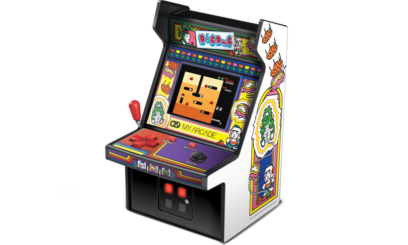 Konsola MyArcade Collectible Retro Dig Dug Micro Player