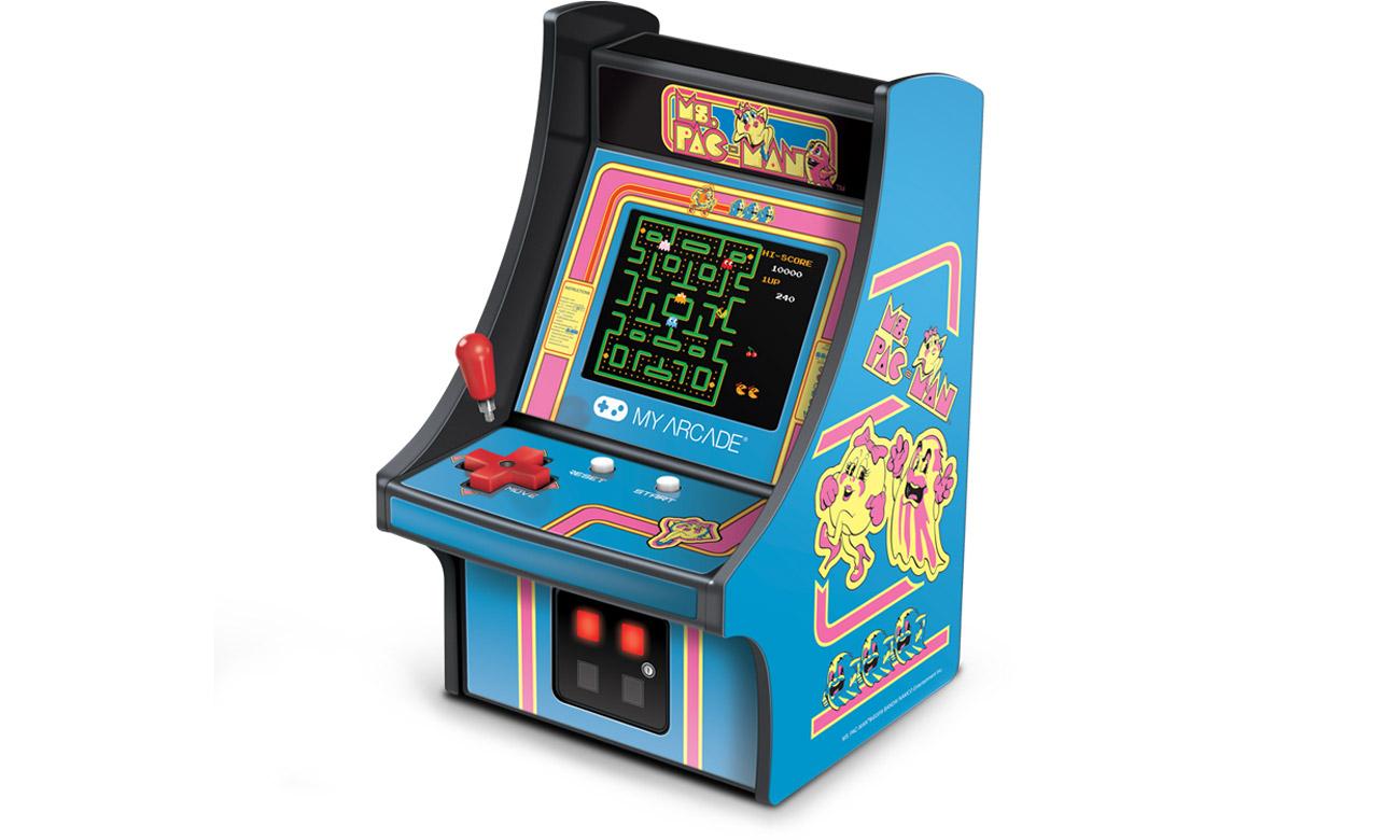 Konsola MyArcade Collectible Retro Pac-Man Micro Player