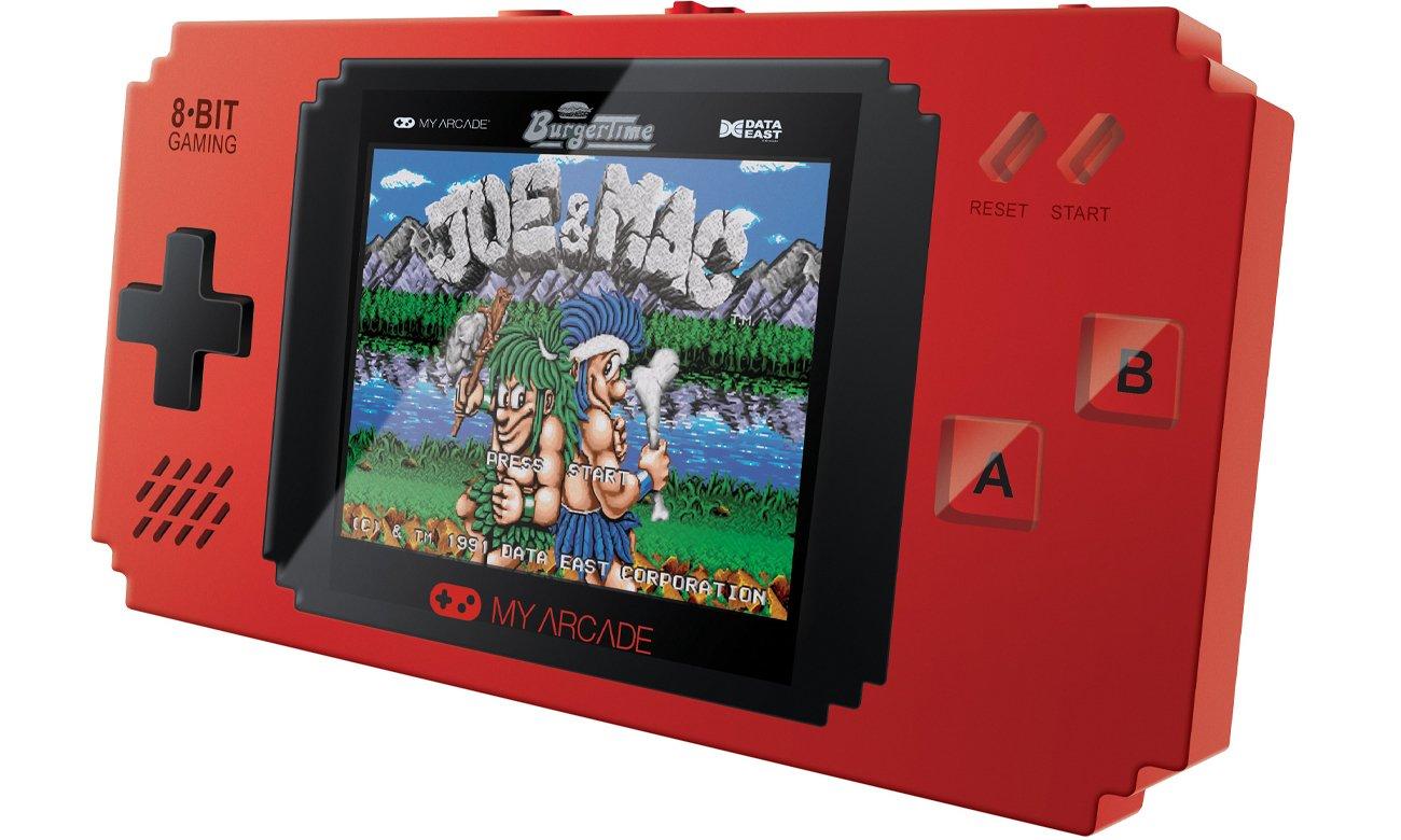 Przenośna konsola My Arcade Pixel Player Red