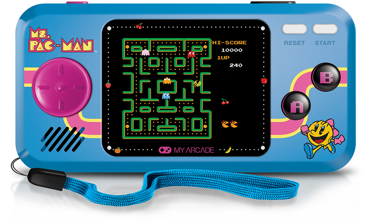 Konsola My Arcade Pocket Player MS.Pac-Man