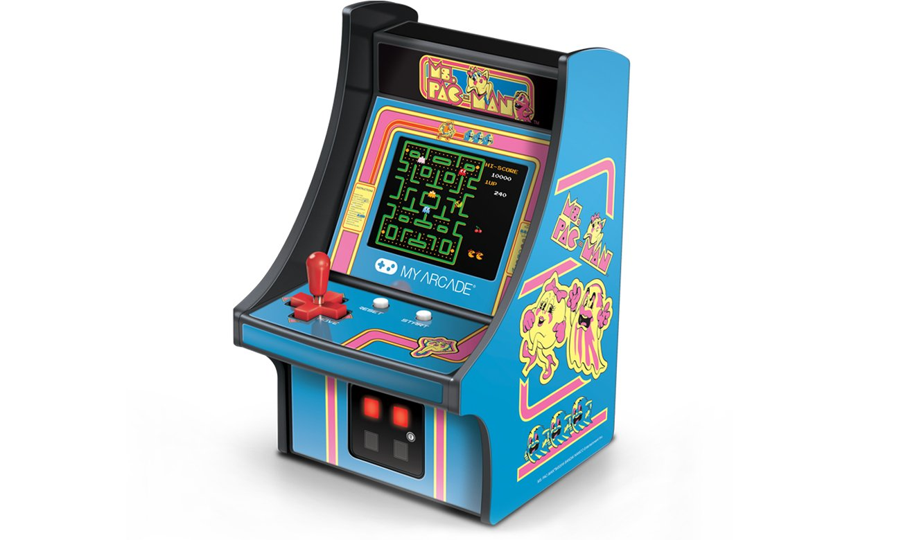 Konsola My Arcade Retro MS. Pac-Man Micro Player