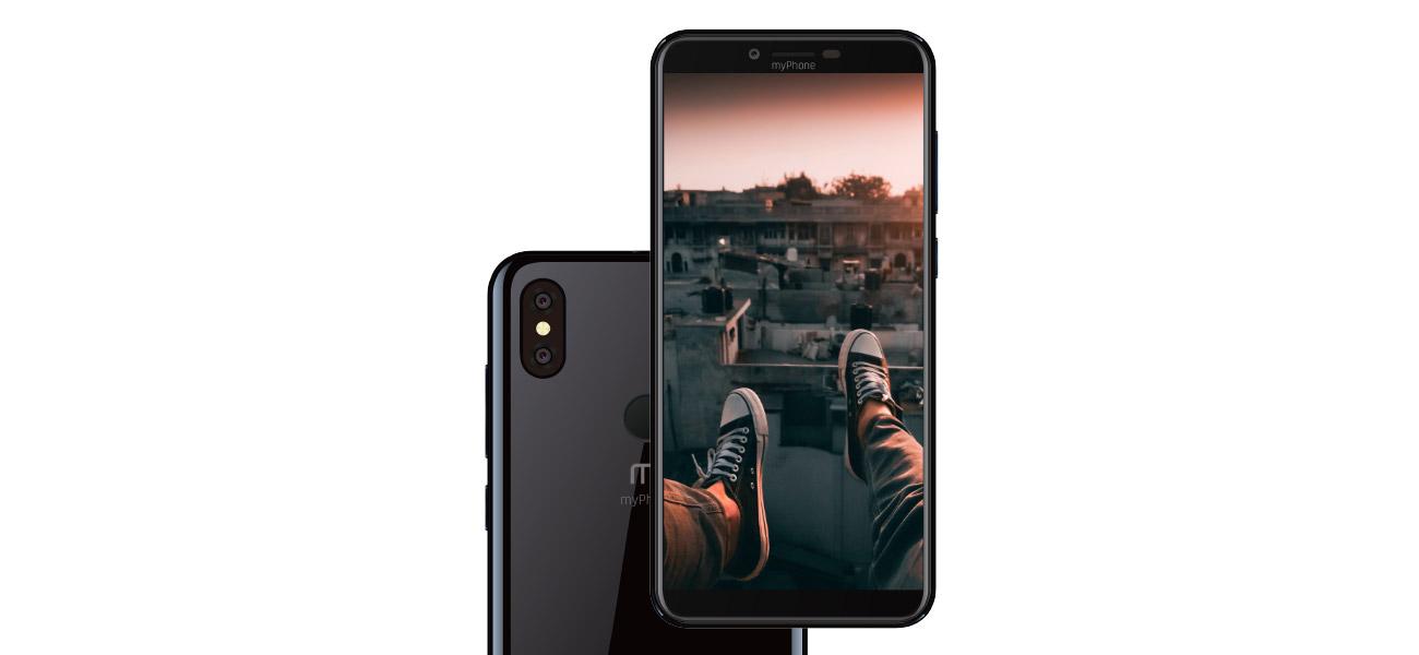 myPhone CITY 2 podwójny aparat 13 + 0,3 Mpix