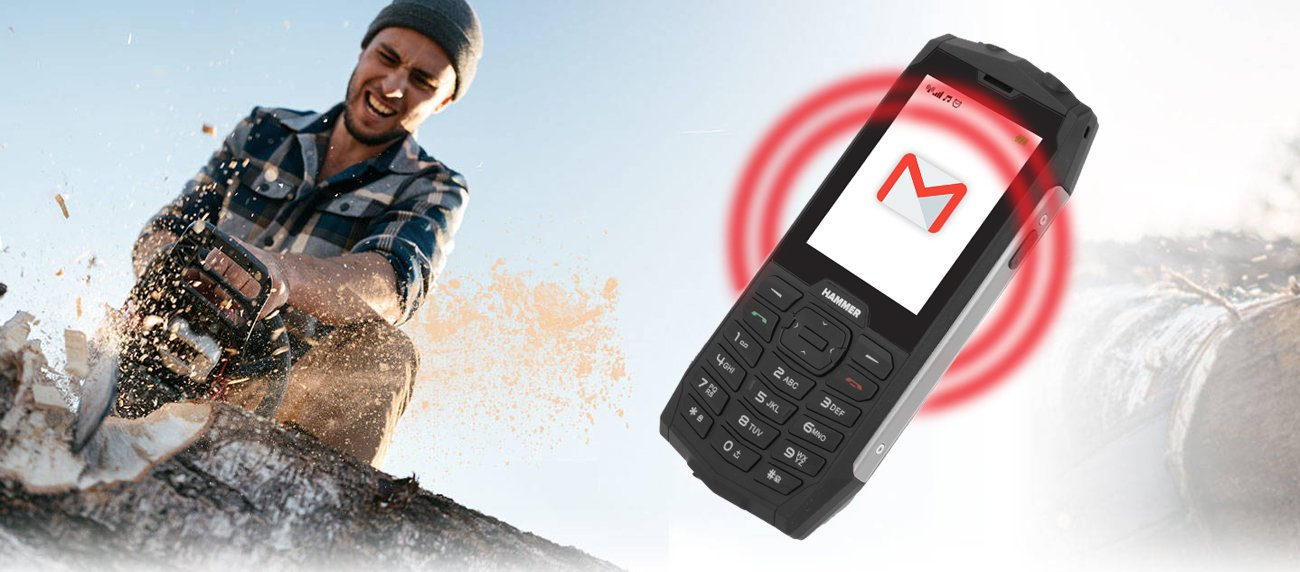 myPhone HAMMER 4+ pancerny telefon 3G