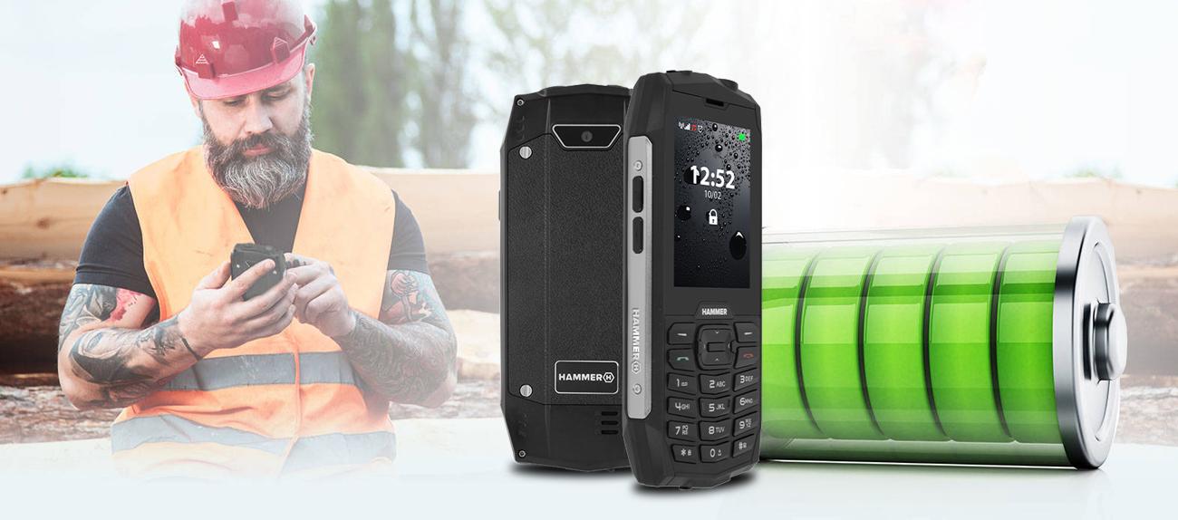 myPhone HAMMER 4+ ladowanie 2000 mAh