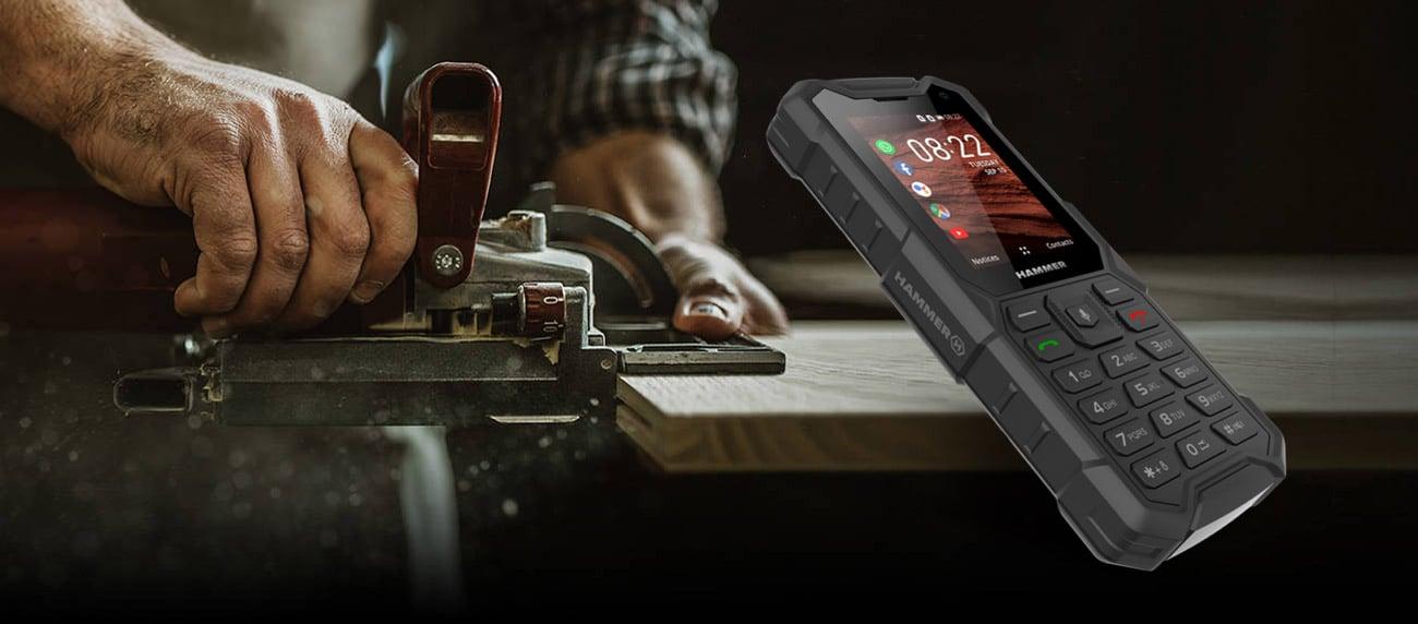 myPhone HAMMER 5 smart klasyczny telefon z funkcjami smartfona