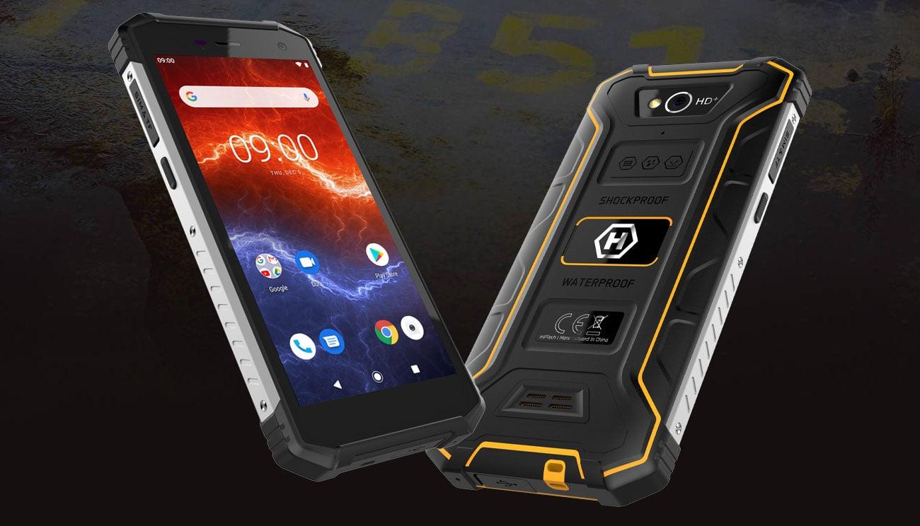 myPhone HAMMER Energy 2 wytrzymały smartfon ip68