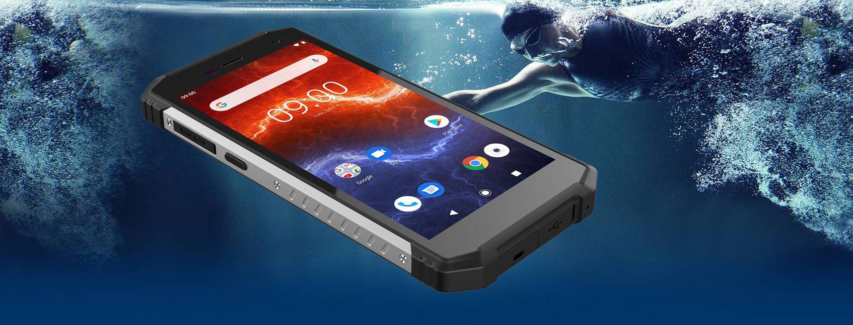myPhone HAMMER Energy 2 odpornośc na wodę i pył