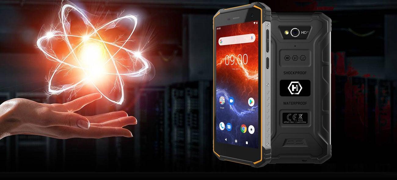 myPhone HAMMER Energy 2 wydajne podzespoły i bateria