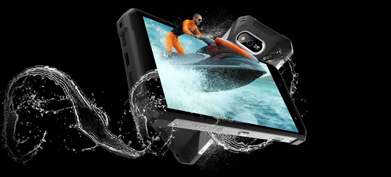 myPhone HAMMER Explorer ekran full screen gorilla glass 3