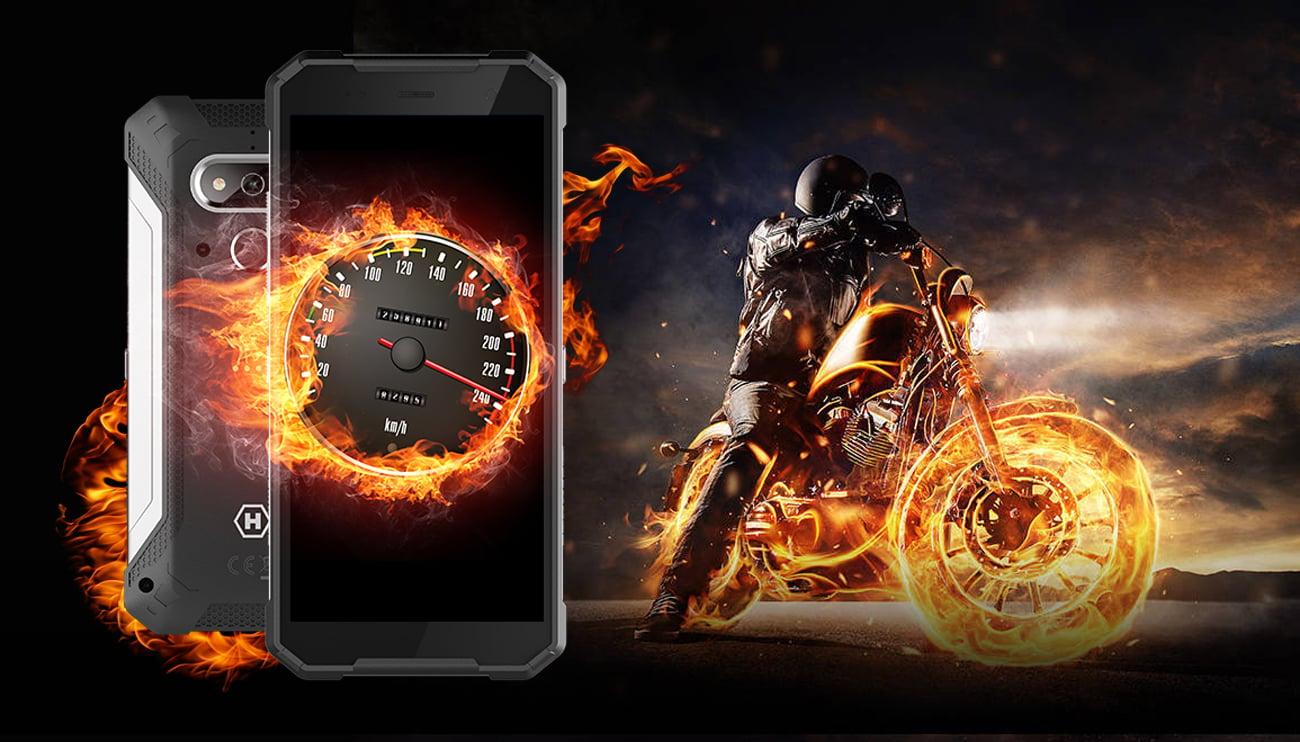myPhone HAMMER Explorer helio a22 5000 mah nfc