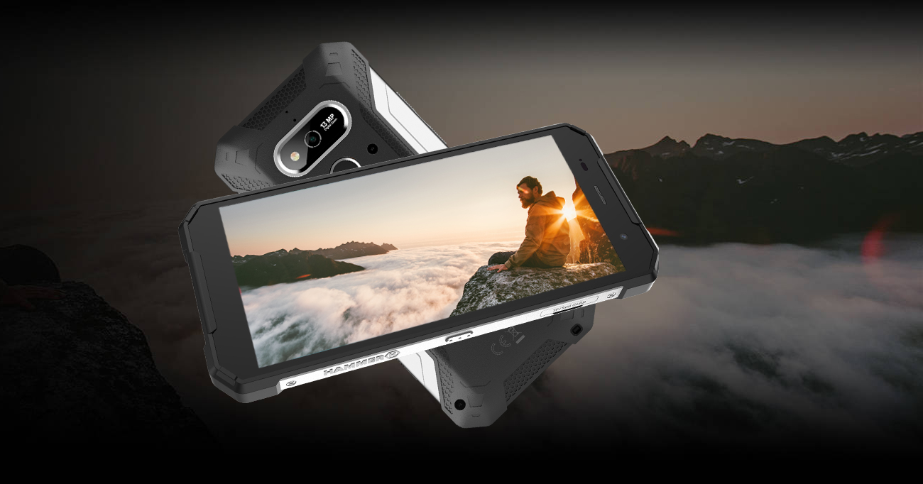 myPhone HAMMER Explorer aparat 13 Mpix sony