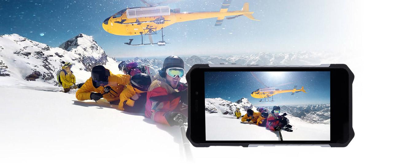 myPhone HAMMER Iron 3 odporny na zarysowania ekran