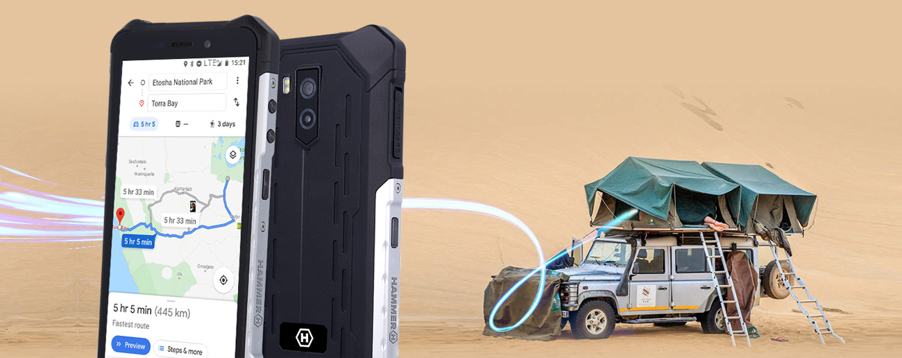 myPhone HAMMER Iron 3 4-rdzeniowy procesor