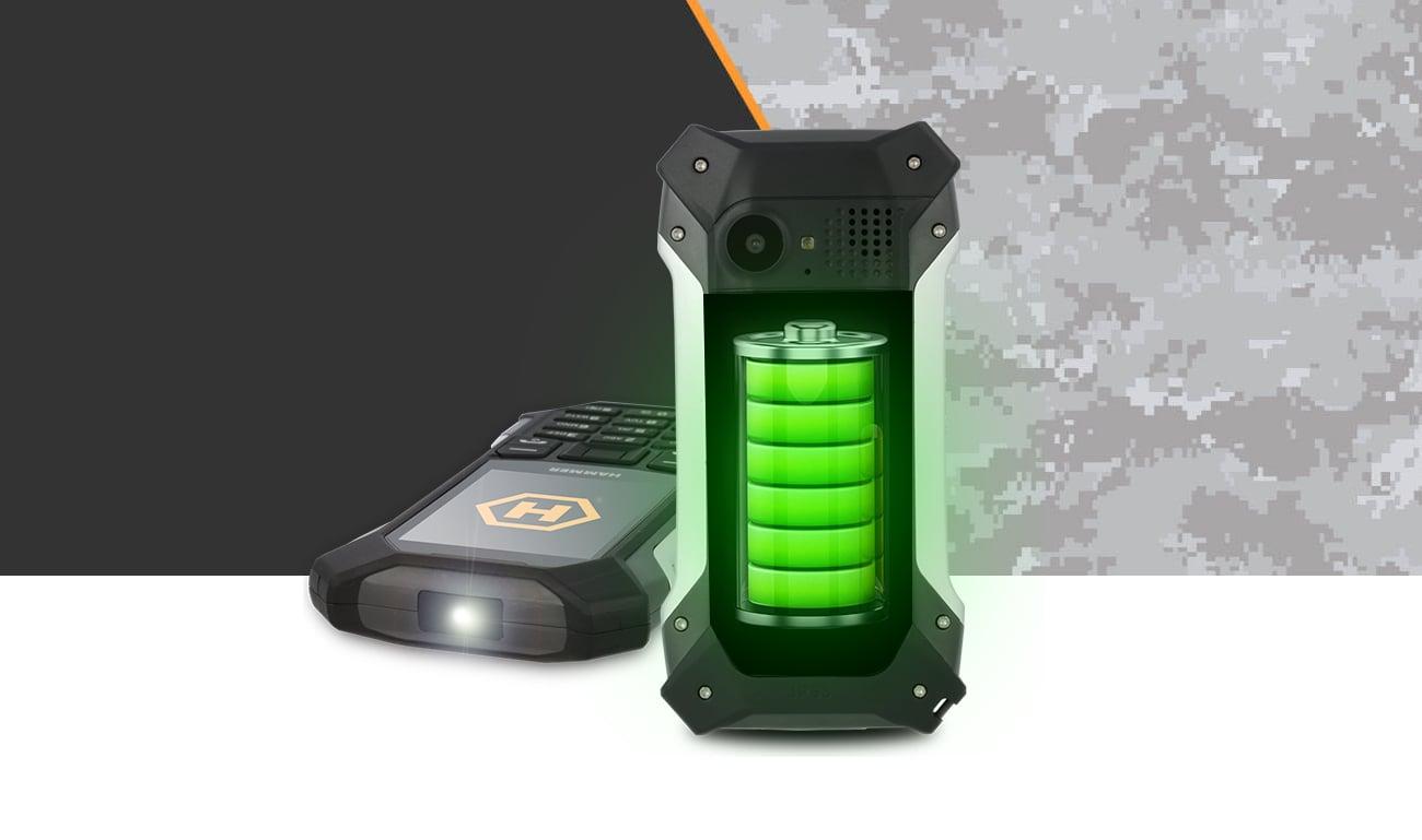 myPhone HAMMER Patriot+ bateria 1800 mAh
