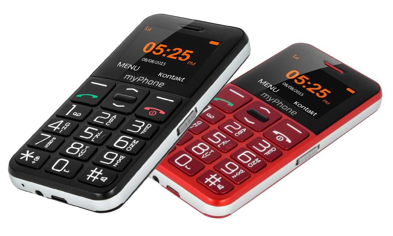 Czarny myPhone Halo EASY klasyczny telefon