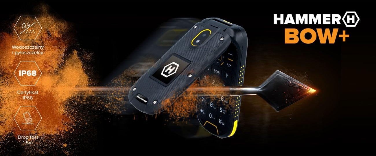 myPhone Hammer BOW+ konstrukcją z klapką