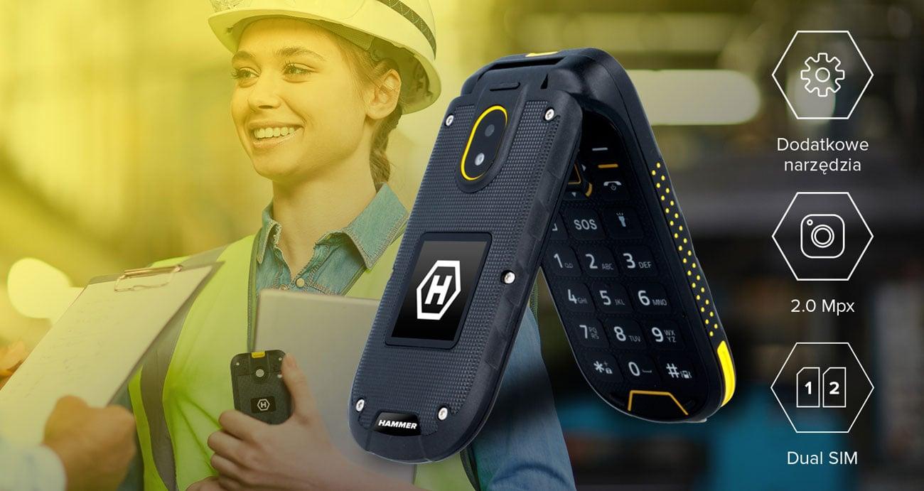 myPhone Hammer BOW+ funkcjonalniość radio fm sos