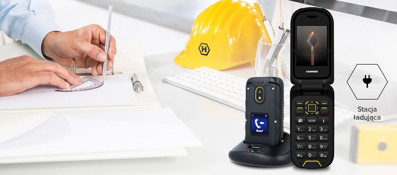 myPhone Hammer BOW+ stacja ładująca