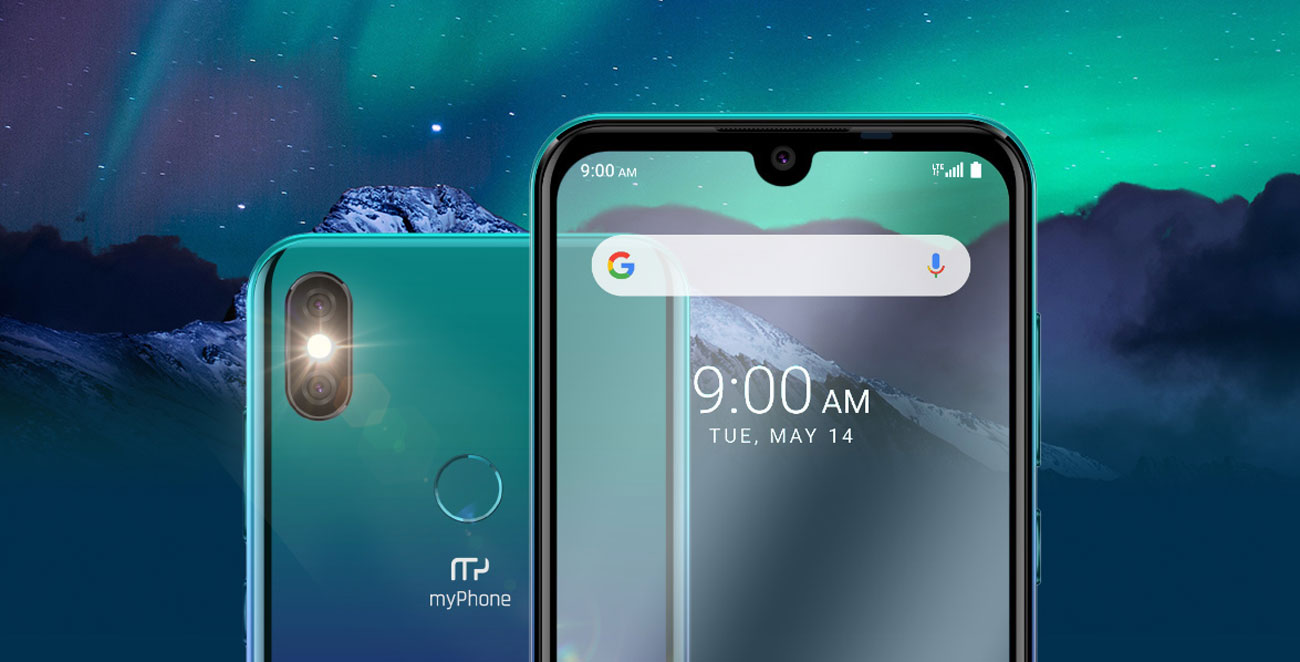 myPhone Pocket Pro smartfon z dużym ekranem