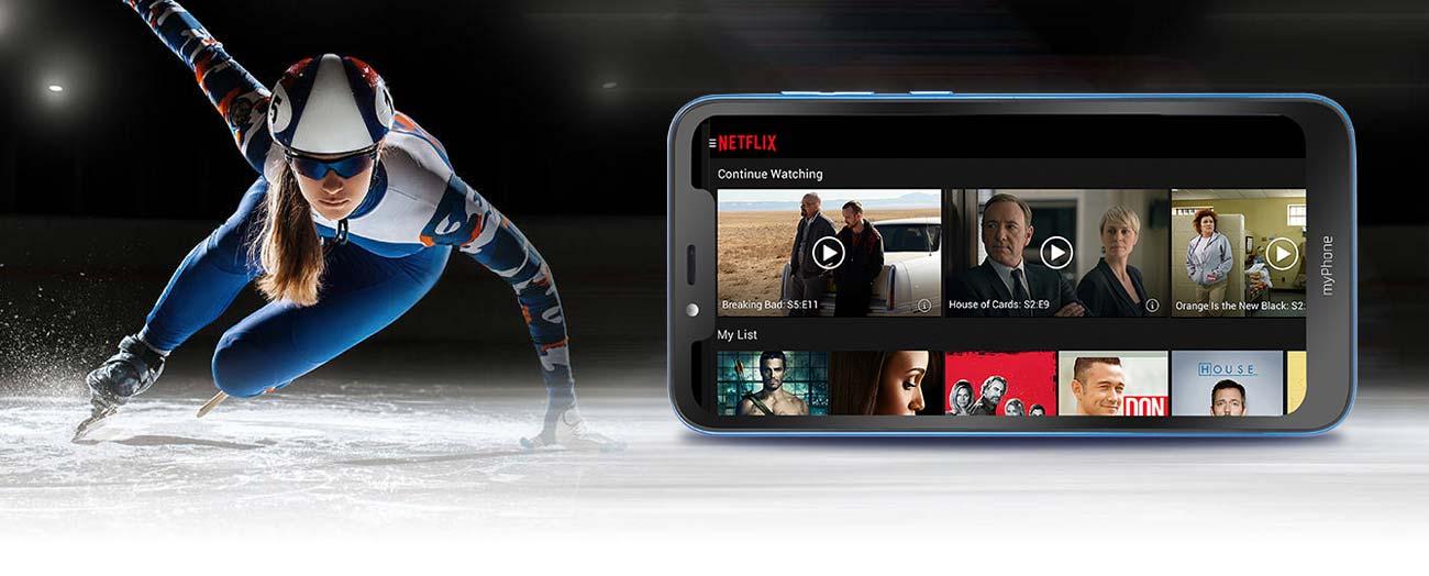myPhone Prime 3 ekran ips 6.18 z notchem