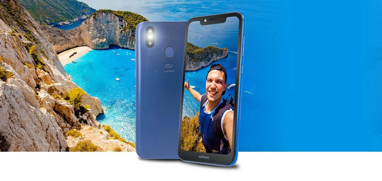 myPhone Prime 3 podwójny aparat 13 + 0.3 Mpix sony imx214