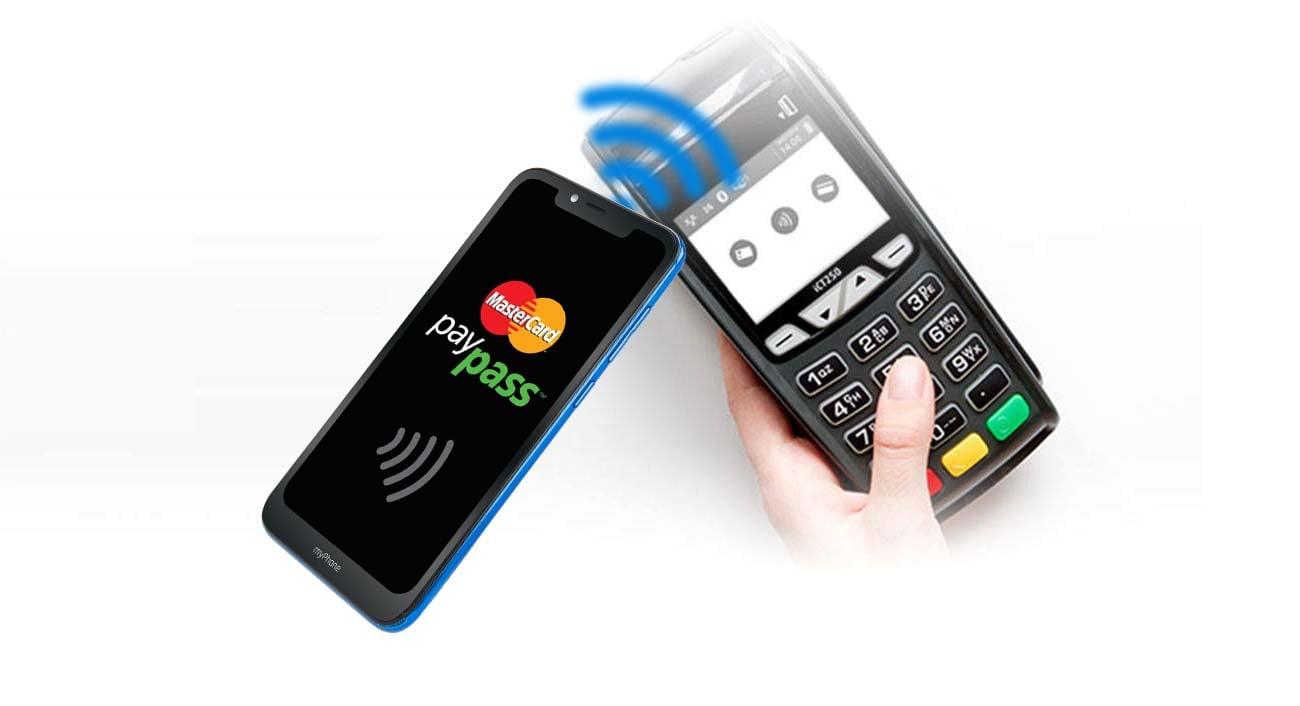 myPhone Prime 3 bezpieczeństwo czytnik linii papilarnych płatnosci NFC
