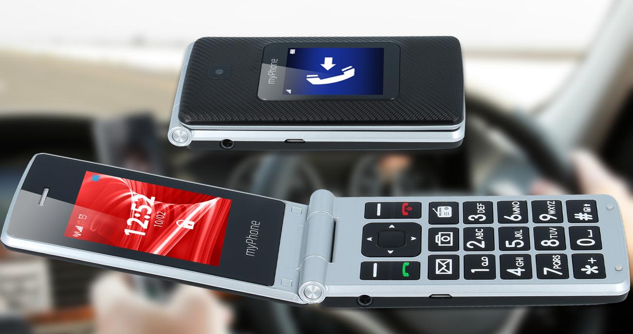 myPhone Rumba dwa kolorowe ekrany