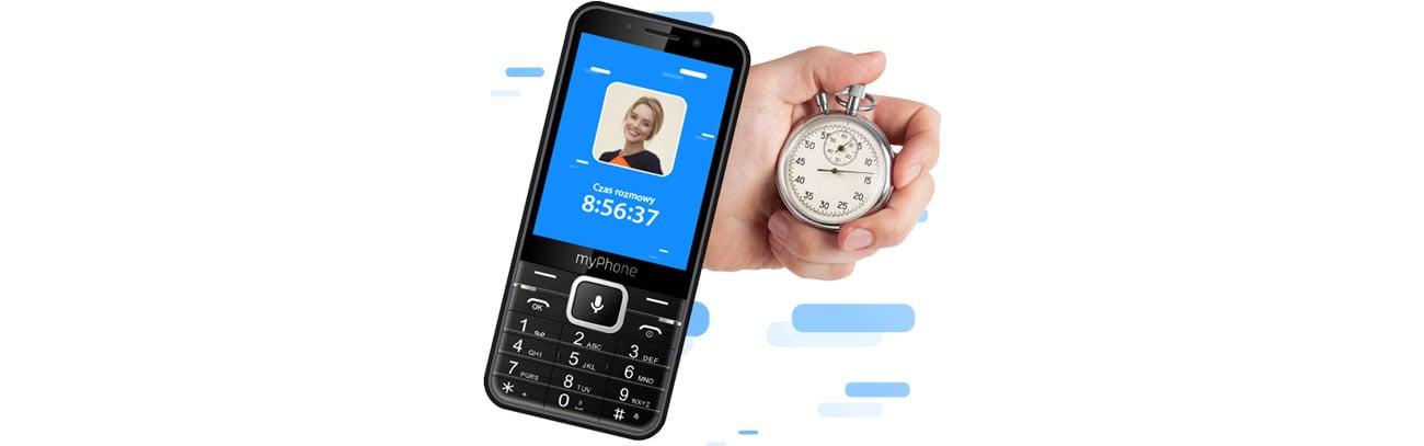 Telefon myPhone Up Smart LTE długi czas rozmów