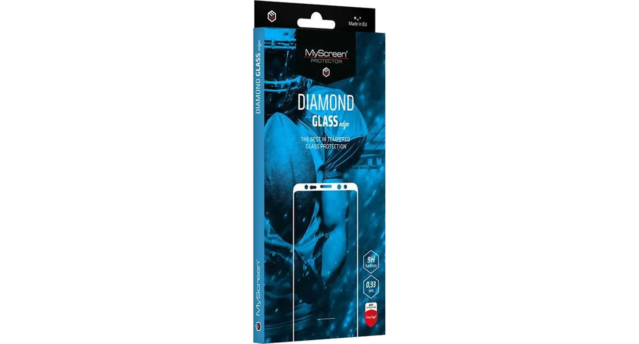 Folia / szkło na smartfon MyScreen DIAMOND GLASS edge do Samsung Galaxy S21+ 5901924988489